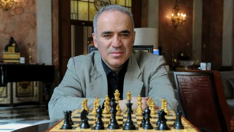 szachista Garri Kasparow