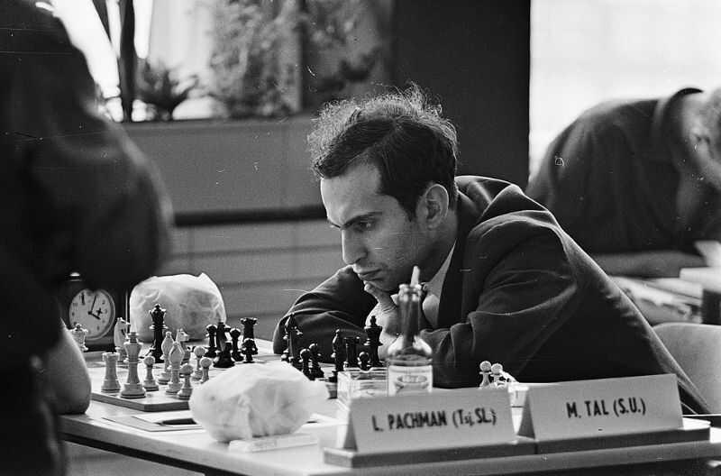 szachista Michaił Tal