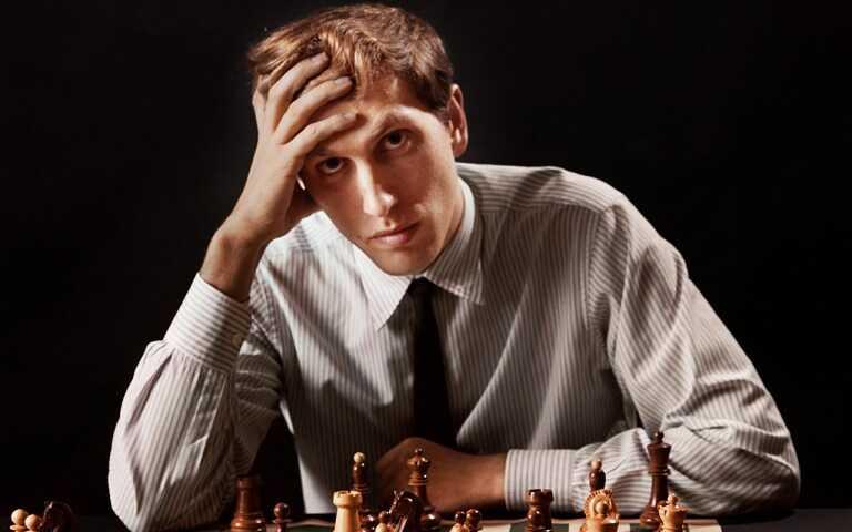 szachista Bobby Fisher