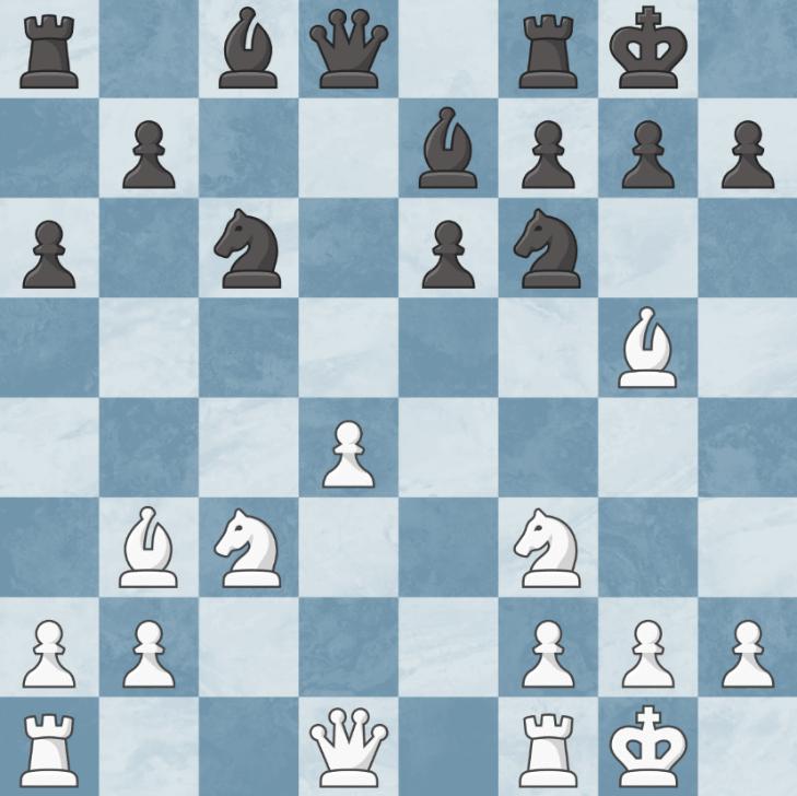 gambit hetmański pozycja z izolowanym pionem